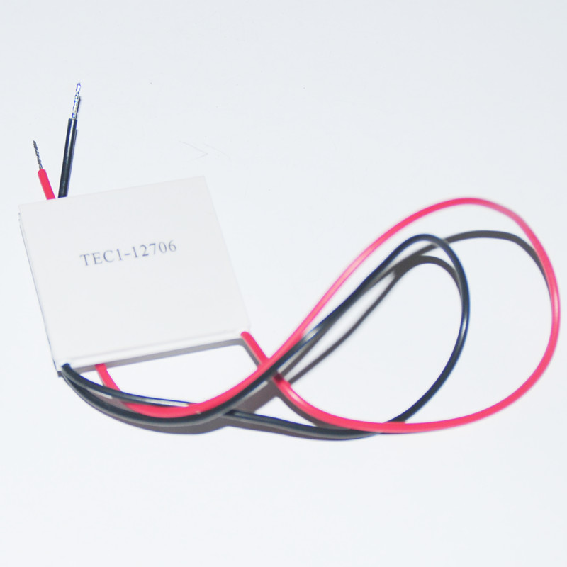 12V 60W TEC1-12706 High Low Temperature Power Generation Heatsink Thermoelectric Cooler Peltier Cooling Plate Panel Module CPU(China (Mainland))