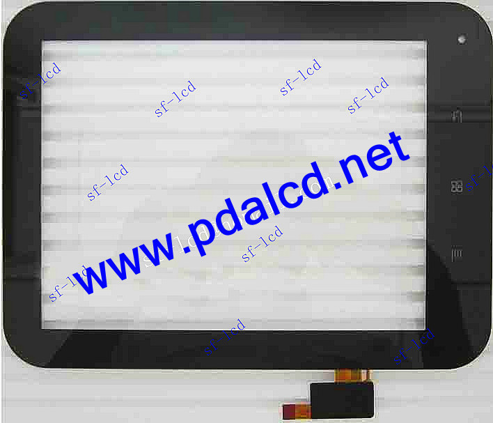 free shipping original new 8'' inch IPS Capacitive touch panel touch screen digitizer for Window N80 Tablet PC MID(China (Mainland))