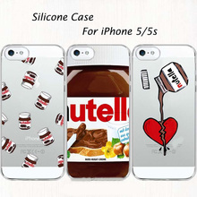 OWNEST Tumblr Nutella Case For iPhone 5 5S SE Soft Silicone tpu Clear with design Phone Back Cover Fundas Coque