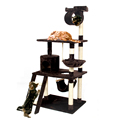Fast Delivery H154 Cat Climbing Toys Scratching Solid Wood for Cats Climbing Frame More Climbing Types