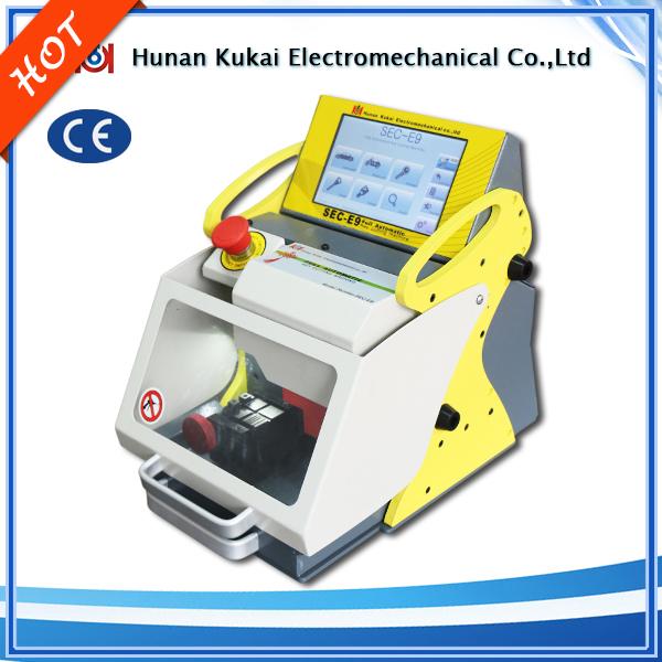 Diagnostic Tools CNC Laser Car Key Cutting Machine SEC-E9 key cutting machine cut house keys and car keys including six clamps(China (Mainland))