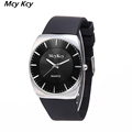 mcy kcy Male Watches Men Luxury Brand Sport Rubber Strap Watch Men Casual Quart Anlog Wristwatches