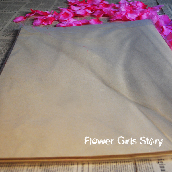 Practical free paper crafts flower bouquet packing bread wrapping - Flower Girls Story store