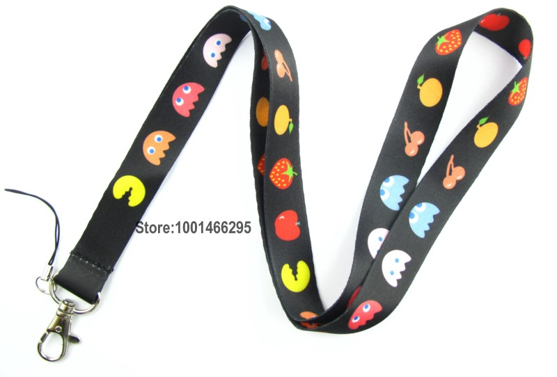 Free shipping 5 Pcs /Wholesale lots Cartoon fruit Necklace Strap Lanyards Cell Phone PDA Key ID Strap Charms L017(China (Mainland))