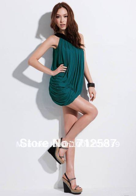 Free shipping 2013 New Sexy Off Shoulder dress Evening Club Dress(the Vintage Ring is free)#5104+7015