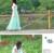 Free shipping Summer Korean big  chiffon chiffon bust Bohemian in skirts
