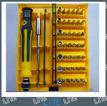 45 in 1 Professional Hardware Screw Driver Tool Kit JK-6089A For Mobile phone tablet pc interchangeable precise manual tool set(China (Mainland))