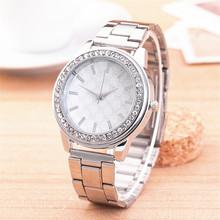 Relojes mujer 2015 mujeres relojes famosa marcas de plata ronda analógica piedras reloj de cuarzo mujeres Ladies reloj de pulsera mujer reloj