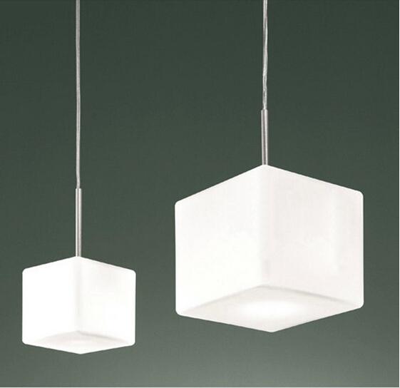 Modern Creative Cube Sugar Glass Wall Lamps Decorative Corridor Bedside