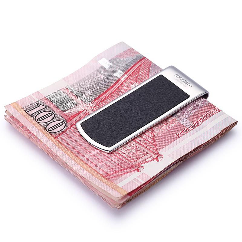 Modern - Brand New 2016 Genunie Leater Money Clip Clamp Slim Pocket Purse Cash Holder Card Organizer Men Women Wallet<br><br>Aliexpress