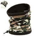 Outdoor Camouflage Army Motorcycle Cycling Face Mask Hat Winter Warm Ski Hood Men Bicycle Cap Thermal