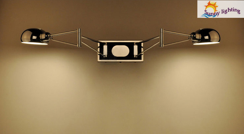 Free Shipping Modern Wall Sconce Bedroom Wall Lamps Swing