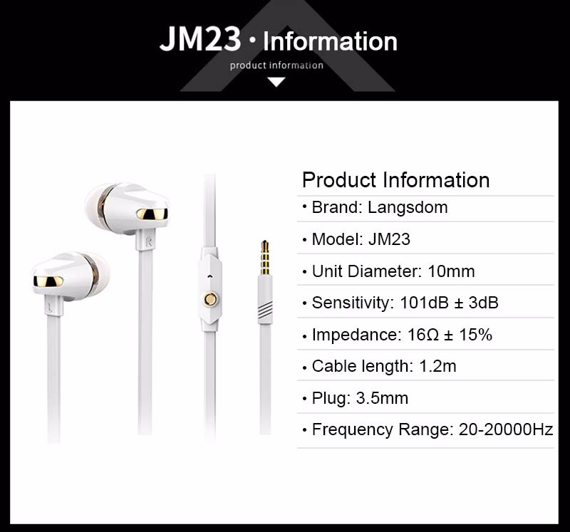 3.5mm Dynamic Earphone For Mobile Phone In Ear Super Clear Heavy Bass Sport Music Earbud Pro HiFi For Smart Phone MP3 MP4 Laptop
