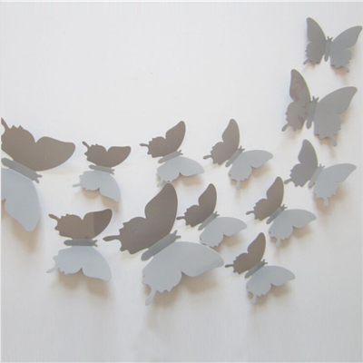 3d three dimensional butterfly wall stickers free for Stickers dalani
