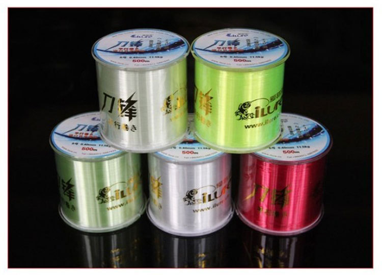 Ilure Hit the line special nylon line the road line Level fishing line original imported from Japan silk 500 meters(China (Mainland))