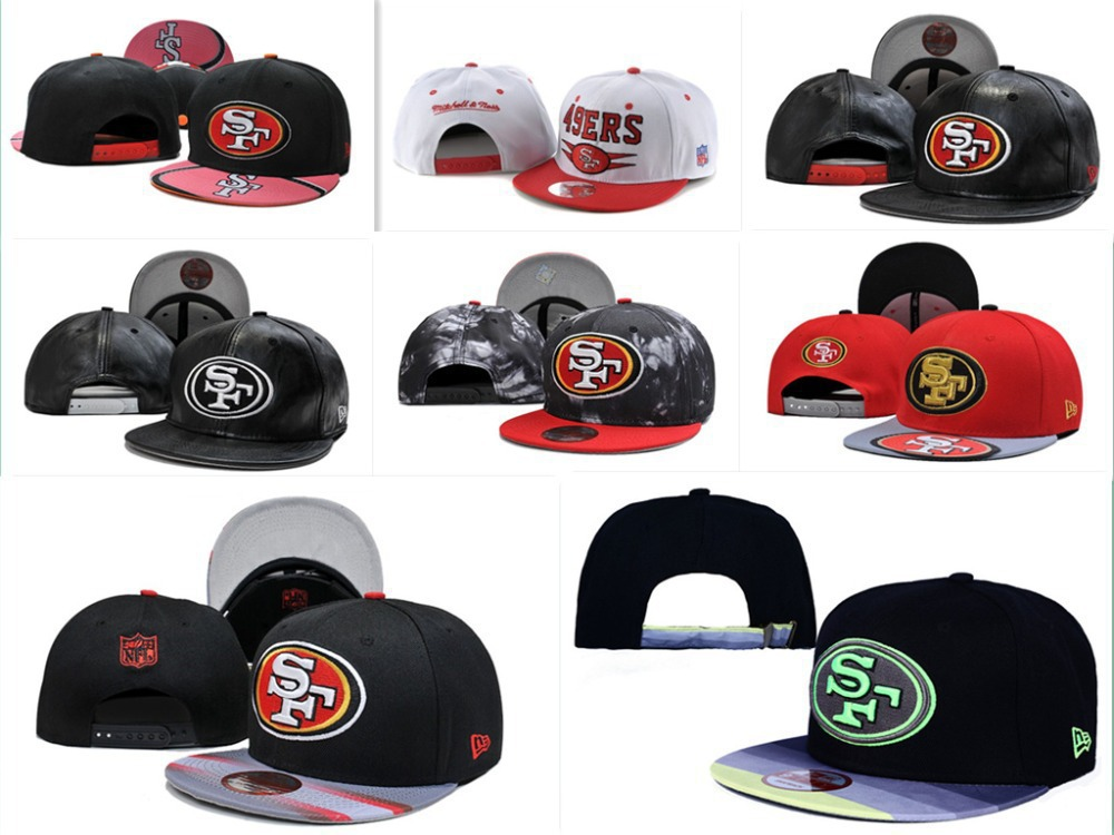 NO-1 Free fast shipping Best Quality 30 Style San Francisco 49ers Snapbacks SF 49ers HATS(China (Mainland))