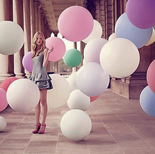 Free Shipping Super Large 70cm Pearl Latex balloon Float air balls inflatable wedding birthday party decoration toys(China (Mainland))