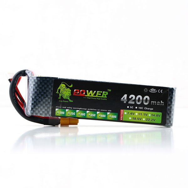 Lion Energy Lipo Battery 14.8V 4200mAh 30C MAX XT60 for RC Airplane DJI Batterys Automobiles Airplanes Helicopters