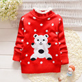 Children s Clothing Autumn Winter Girls Sweater Children Cotton Clothing for Girls Double layer Long sleeve