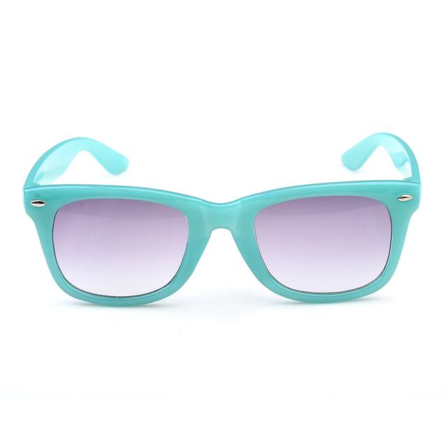 Мода Солнцезащитных Очков 2016 Градиент Мальчики Goggle для Детей Милые Девушки Поликарбонат UV400 Многоцветный Детей Солнцезащитных Очков