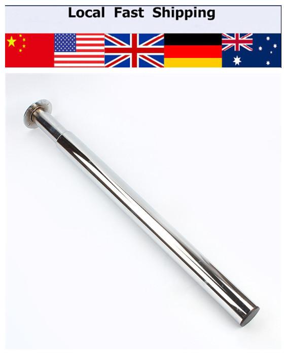 Brushed Steel 710-1100MM Adjustable Table Leg Breakfast Bar Stands Kitchen Worktop Support New Furniture Legs(Hong Kong)