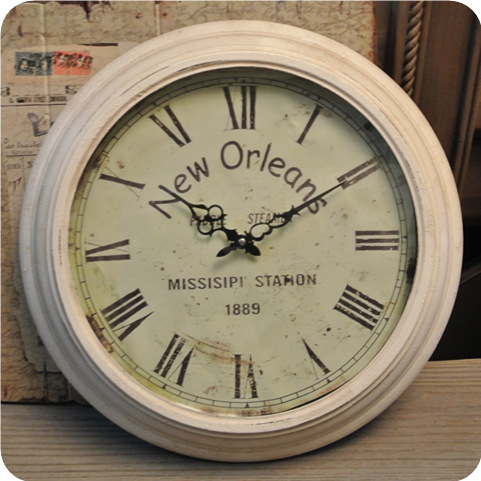 Easy system of European retro antique wrought iron wall clock home decoration hanging round the table to do the old effect furni(China (Mainland))