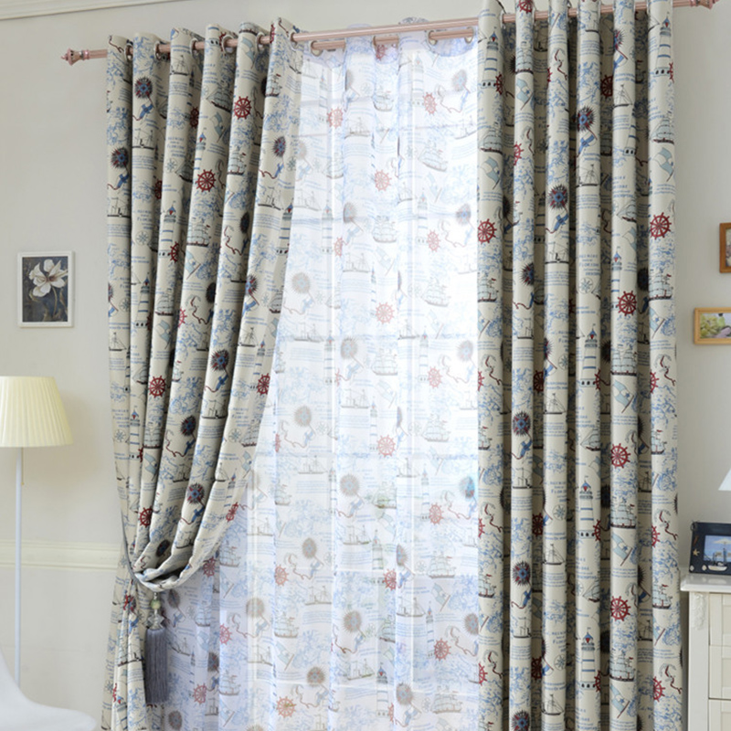 2015 new made modern shade children blackout curtains for