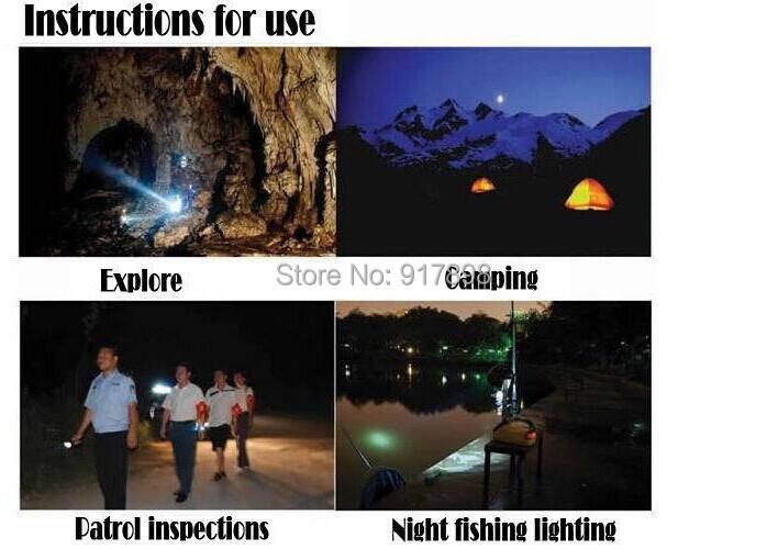 Гаджет  2000 Lumens Zoomable T6 LED Flashlight Varifocal LED Torches used 3xAAA or 1x18650 For camp flashlight shocker None Свет и освещение