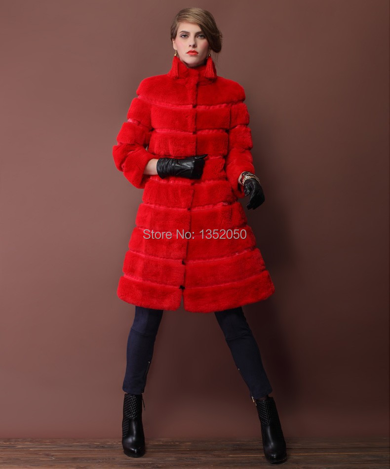 2014 winter hot sale new real natural hot thick women s