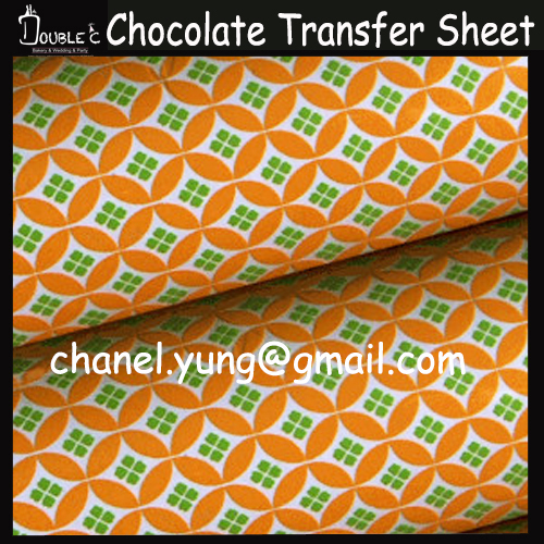 Cake Decorating With Chocolate Transfers : Aliexpress.com : Buy HOT 10PCS Chocolate Transfer Sheet ...
