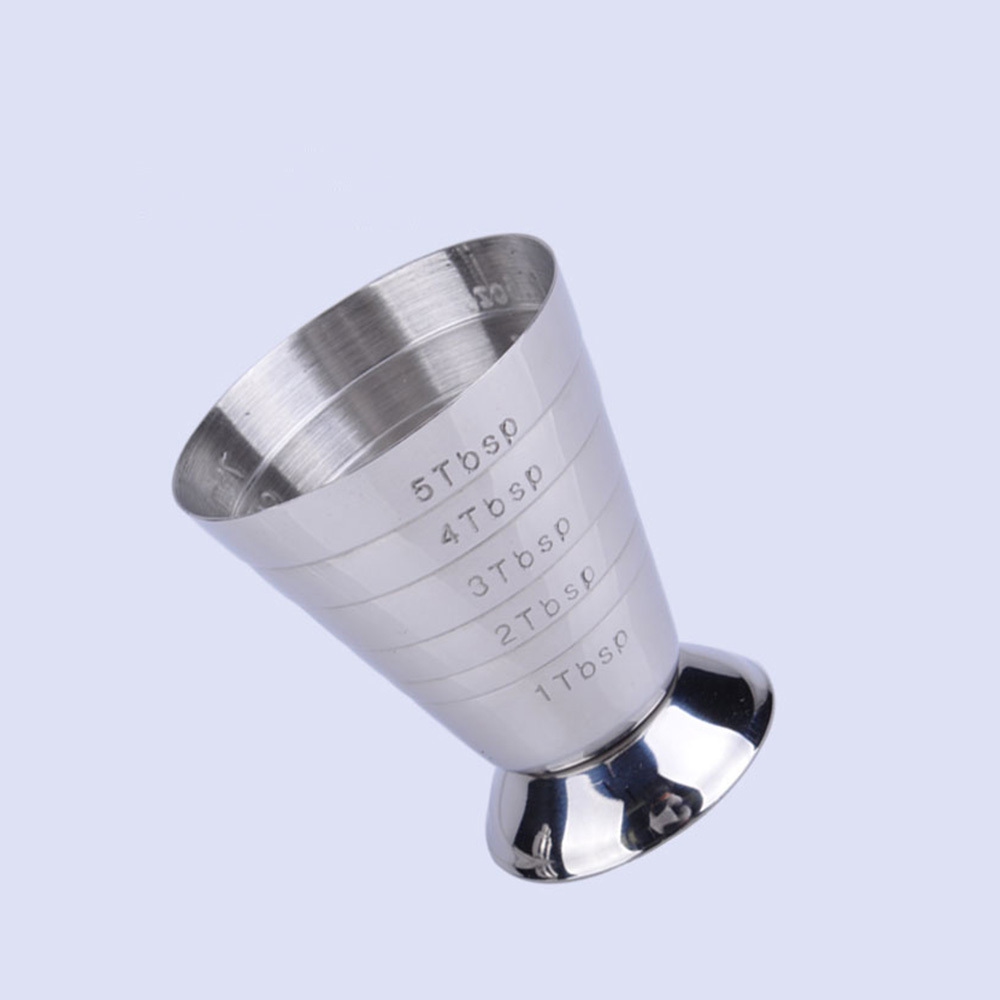 Aliexpress Com Buy 75ml Measuring Jigger Cup Stainless
