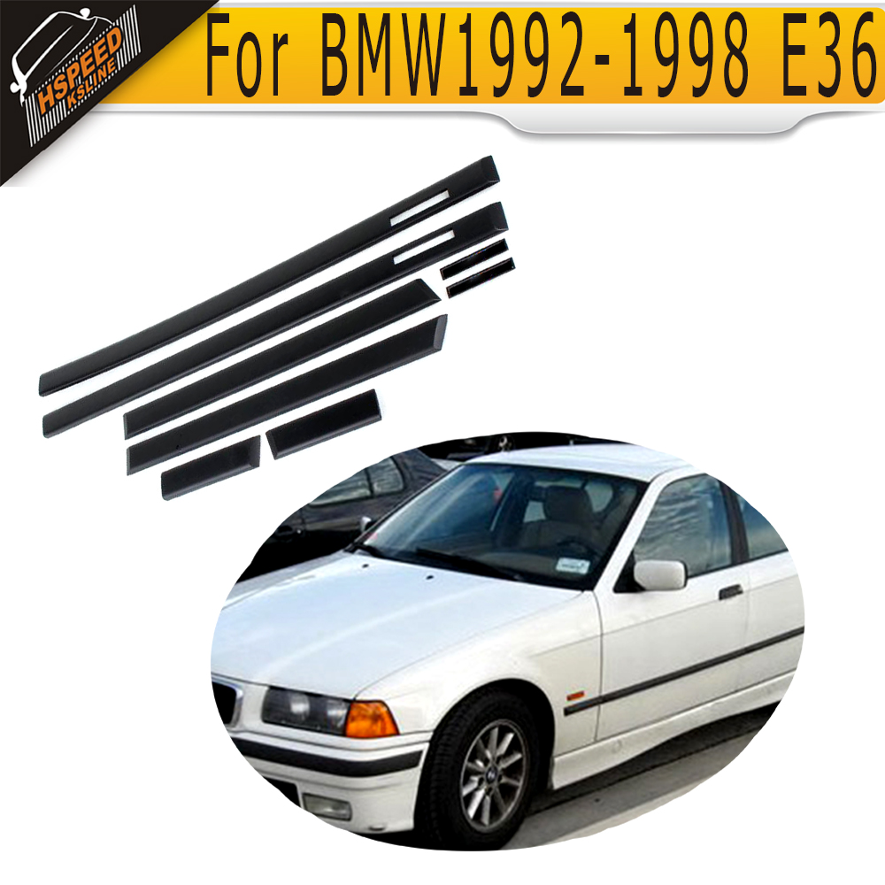 E36 PP Auto Car Door Edge Guards Molding Trim Protection Strip Protector BMW 1992-1998 4D Sedan - HSPEED KSLINE Store store