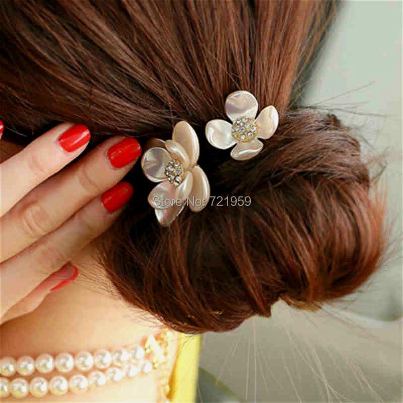 Украшение для волос с цветами своими руками