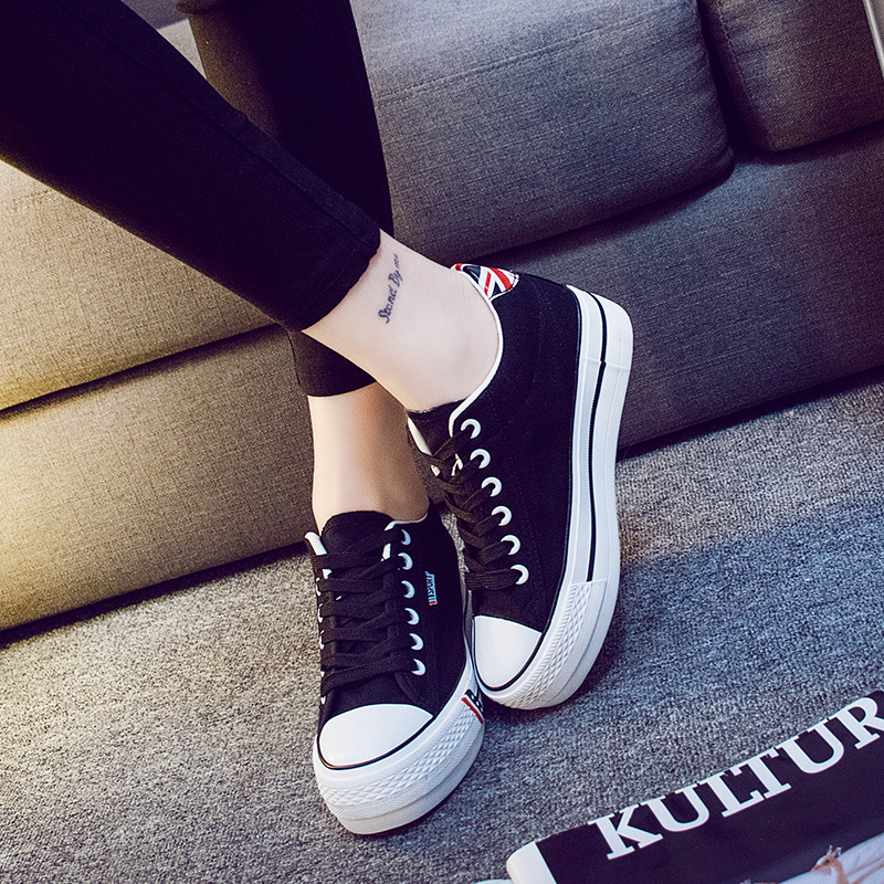 the new classic canvas shoes low in leisure height