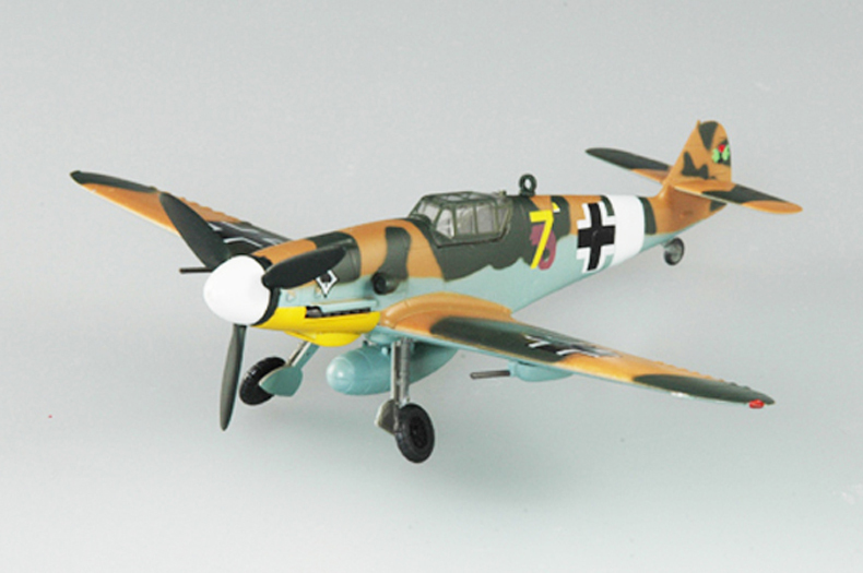 EASY MODEL scale airplane 37252 1/72 scale aircraft BF-109G assembled model finished model do not need to assemble model gift(China (Mainland))
