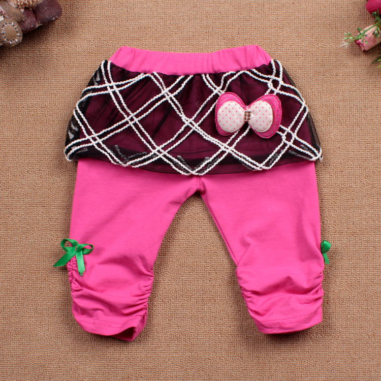 Girls' Trousers 2013 summer New models bow girls pants trousers - Home & Living Daily Items Shop store