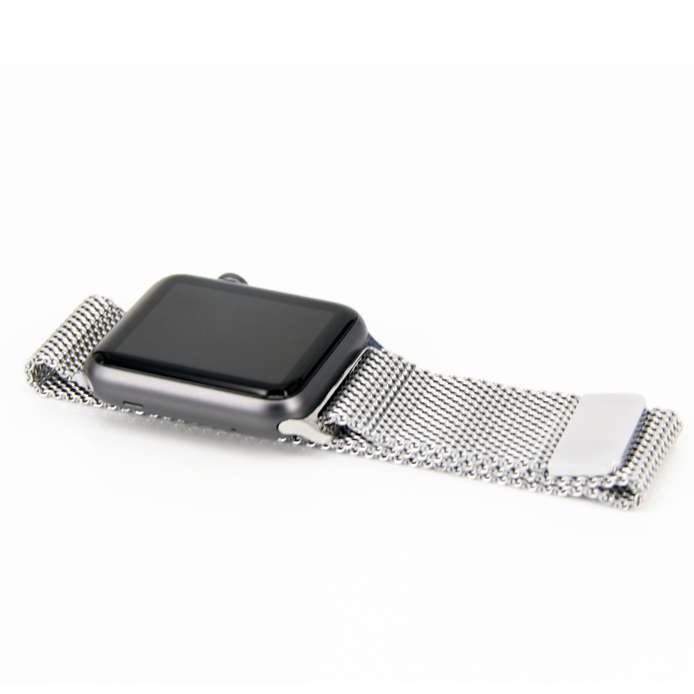 For apple of watchband Silver Milanese Loop for apple watch 42mm band Stainless steel strap for apple watch 38mm Watchband(China (Mainland))