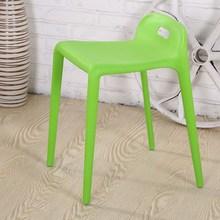 Modernes Design Kunststoff Stapelbaren Stuhl Wohnzimmer Hocker Hocker Low  Back Einfach Nehmen Hocker Ändern Bunten Hocker 2 STÜC.
