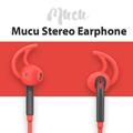Rock Mucu Fashion Luxury Stereo Earphone In Ear 3 5mm Earbuds For iPhone 6s Plus Samsung