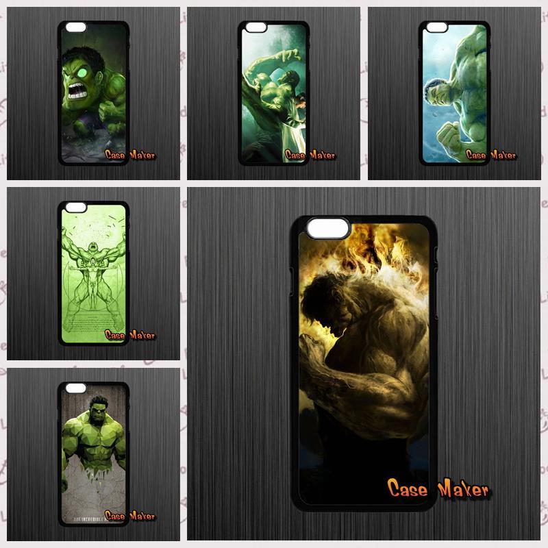 The Avengers Green Giant Hulk phone cases cover For iPhone 4 4S 5 5C SE 6 6S 7 Plus Galaxy J5 A5 A3 S5 S7 S6 Edge(China (Mainland))