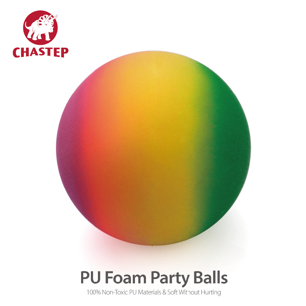 Pelotas PU Balls for Children 6 Inch 15cm Rainbow Ball for Fun & Birthday Party & Beach & Indoors With Soft PU Materials 0.19G(China (Mainland))