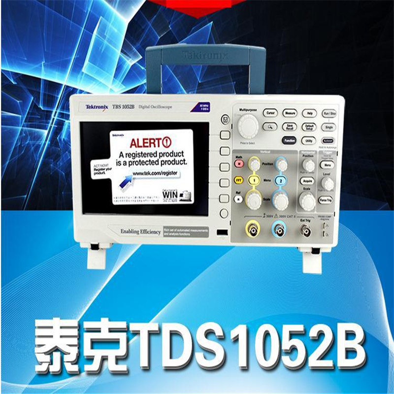 50Mhz Bandwidth 1Gs/s Sample Rate Dual Channel 7 High-resolution WVGA Display Tektronix TBS1052B Digital Oscilloscope<br><br>Aliexpress
