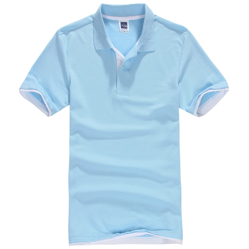 Brand New Men 39 S Polo Shirt Men Cotton Polyester Polo
