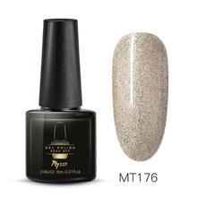 Mtssii Color puro esmalte de uñas Gel de manicura Semi permanente Base superior UV Gel remojo de uñas pintura Gel esmalte uñas arte de laca(China)
