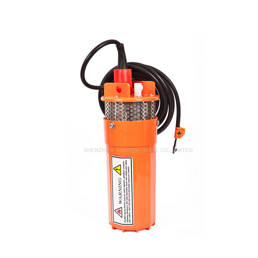 Free ship by DHL 1pcs 12v/24v solar DC submersible /deep well /high head/ well pumps DC Solar water Pump(China (Mainland))