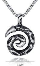Fashion Unisex's Jewelry Stainless Steel Pendant Gothic Biker Eddy Dragon Claw Pendant Size Length 3.5cm Width 3.5cm