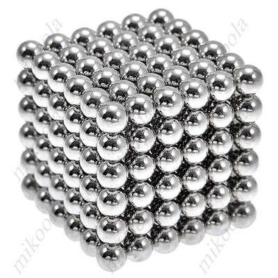 New Style 216 x 5mm Magic Magnet Magnetic DIY Balls Sphere Neodymium Cube Puzzle(China (Mainland))