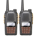 2PCS Lot Baofeng UV 6R Intercom Professional CB Radio Dual Band 128CH LCD Display Wireless Baofeng