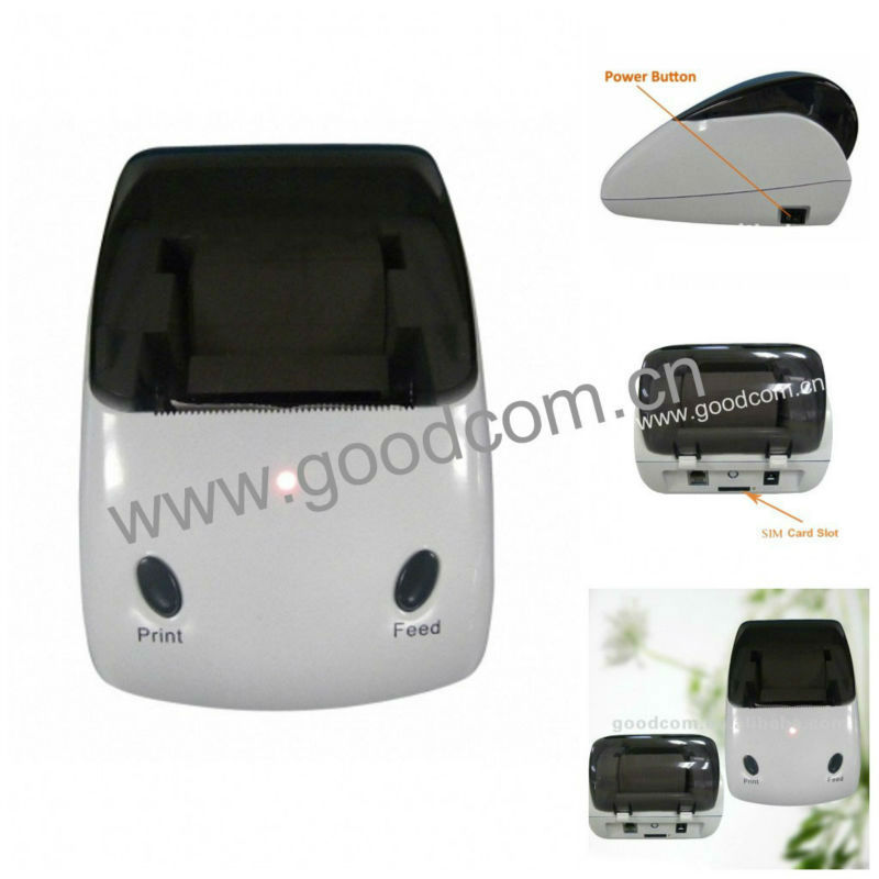 Goodcom Pocket WIFI Printer GT4000SW with 2 Keys for Online Food Ordering(China (Mainland))