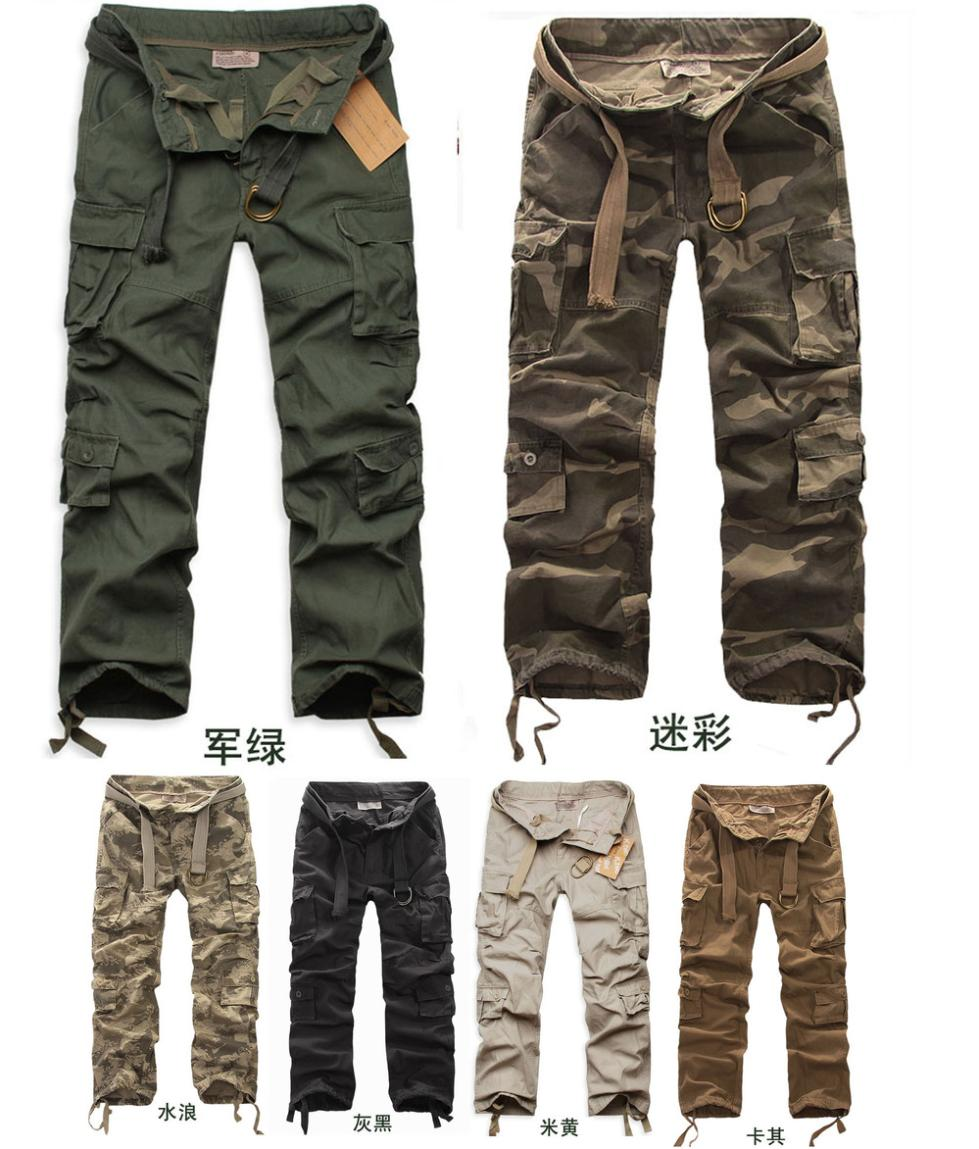 Camo Cargo Pants Swag Camo Cargo Pants With Belt